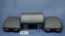Kia Sorento Headrest Rear Back Set Black Leather Odor Free OEM 2013-2011    1577