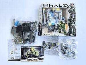 Mega Bloks Blocks HALO #97088 UNSC Cryo Bay OpenDamaged BoxComplete Sealed Bags