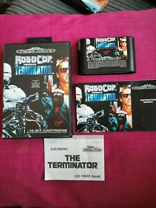 Sega Mega Drive RoboCop Vs Terminator  Game cartridge Complete