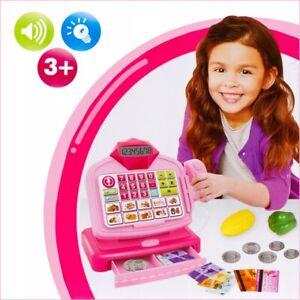 Childrens Kids Toy Till Cash Register Toy Scanner Supermarket Christmas Kids Toy