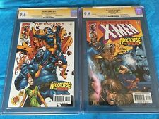 Uncanny X-Men #377 reg and var- Marvel - CGC SS 9.6 NM+ - Signed by Raney, Hanna