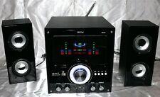 ORCOM NR01 2.1 Design Anlage Music Center USB SD CARD AUX FM Radio Karaoke FB 11