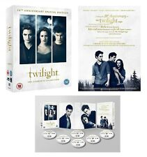 THE TWILIGHT SAGA (2008-2012): COMPLETE 10 Anniv. Special Edition  R2 DVD not US