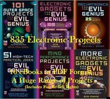 CD - Evil Genius Project Books