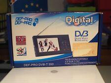 Digital portable tv with rec mode ,def-pro dvb-t350
