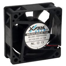 X-Fan Axial Fan 60 x 60 x 15/25mm DC Sleeve Bearing 12v Low Voltage