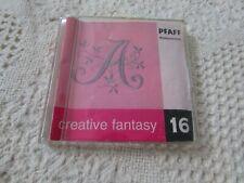 Pfaff Emb Machine Card Creative Fantasy #16 Alphabet, 7570,7560,2140,2170 Nice