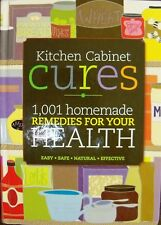 Bottom Line Kitchen Cabinet Cures 1001 Homemade Remedies for You Health New