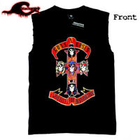Guns And Roses - Appetite For Destruction - Modified Cut-Off Band Singlet
