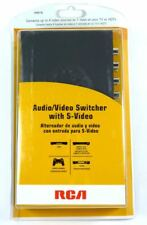 VH911N RCA 4 Input to 1 Output Video/SVideo Audio Selector/Switch for TV/VCR/DVD