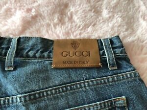 "Gucci jeans waist 48 leg 32"""