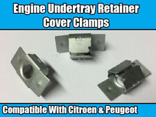 10x Clips For Citroen & Peugeot Engine Undertray Shield Retaining Cover Clamps