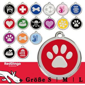 Red Dingo Hundemarke mit kostenloser Wunschgravur - Original - Halsbandanhänger