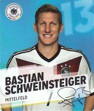 Rewe DFB Sammelkarten Fußball WM 2014 Nr. 13 Bastian Schweinsteiger NEUWARE 013