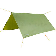 3m x 3m Waterproof Tarp for Shelter survival backpacking camping tent tarp