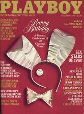 PLAYBOY DECEMBER 1980 Terri Welles George C. Scott Truman Capote Erotic Art