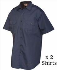 Cotton Blend Solid Button-Front Casual Shirts for Men