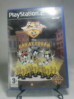 Animaniacs The Great Edgar Hunt Game For Sony Playstation 2 PS2