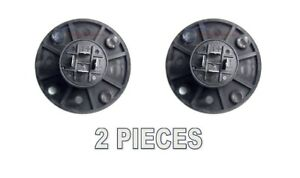 2 Pack 4 Pin Female Speakon Round Chassis Mount Connector Coupler Pro Audio