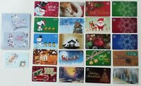 Walmart Gift Card Christmas 2020 - LOT of 22 Diff - No Value - Snoopy, Dog, Cat+