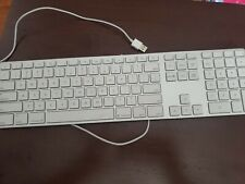 Apple USB Keyboard with Numeric Keypad and USB Ports small ding official product
