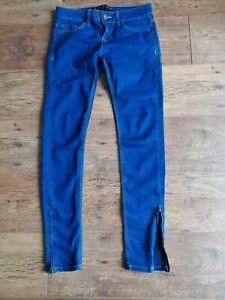 Las Mejores Ofertas En Algodon Mujer Zara 29 En Entrepierna Jeans Ebay