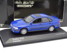 Minichamps 1/43 - Volvo S40 Bleue