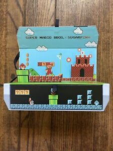 SUGARFINA x Nintendo NES Console shape special Edition Box with sounds