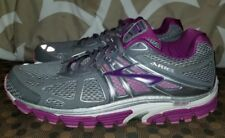 Brooks Ariel 14 $149 Womens Running Shoes women Size 13 Smoked Grey Pearl Violet