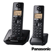 PANASONIC KX-TG2722EB TWIN DECT CORDLESS TELEPHONE SET ANSWERING MACHINE