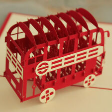 3D Kirigami & Origami Pop-Up Cards- London Bus buy 3 get 1 free