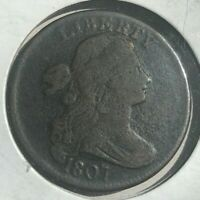 1807 Draped Bust Large Cent - Great Condition!