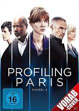 ODILE/BAS,PHILIPPE VUILLEMIN - PROFILING PARIS-STAFFEL 3 4 DVD NEU