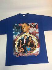 Barack Obama T-Shirt Size L President Rap T Hip Hop