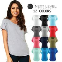 Lady's Women's Relaxed Fit Ideal Dolman Sleeve XS-3XL T-Shirt NL1560 Next Level