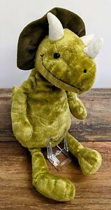 Jellycat Trevor Triceratops Dinosaur Retired (2020)