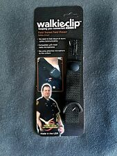 WalkieClip Epaulet Holder Shirt Attachment Police/Fire/EMT Radio