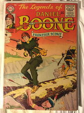 The Legends of Daniel Boone #1, VG/F 5.0, DC, 1955, Golden Age
