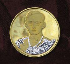 1996 King Bhumibol Adulyadej Rama IX Thailand 50th Jubilee Medal Amulet Thai