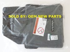Genuine NISSAN VERSA NOTE Carpet Floor Mats Genuine 4 pc. Charcoal 999E24Z100