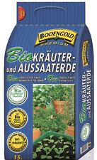 Bodengold Bio Kräuter und Aussaaterde Premium 15 Liter