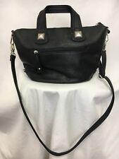 Free People Faux Leather Black Purse Bag Handbag Crossbody
