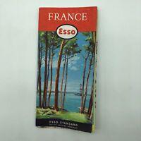 France - Esso Standard Map - 1957