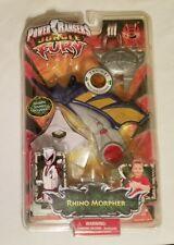 2008 RARE  Power Rangers - Jungle Fury - RHINO MORPHER Brand New Factory Sealed