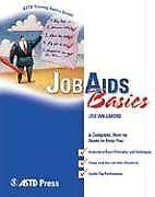 ASTD Training Basics: Job AIDS Basics by Joe Willmore (2006, Paperback)