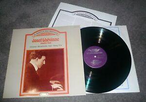 414 121-1 - JOSEF LHEVINNE - THE AMPICO RECORDINGS - VOLUME TWO