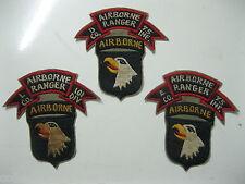Patch_ AIRBORNE _ 101ST DIV _ L, D, E  co. 75th AIRBORNE Ranger _ 101ST A