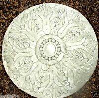 Tuscan plaque mold plaster concrete home decor casting mould