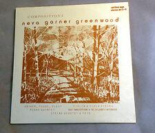 2-LP, Neva Garner Greenwood, Compositions, Golden Age 1012-3, SEALED ULTRA RARE!