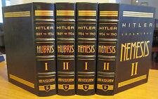 Easton Press; Hitler 1889-1945; Hubris & Nemesis; Ian Kershaw; 4 Vol.; Free Ship